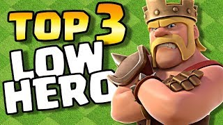 Top 3 Best Low Hero Attacks for TH9 in Clash of Clans