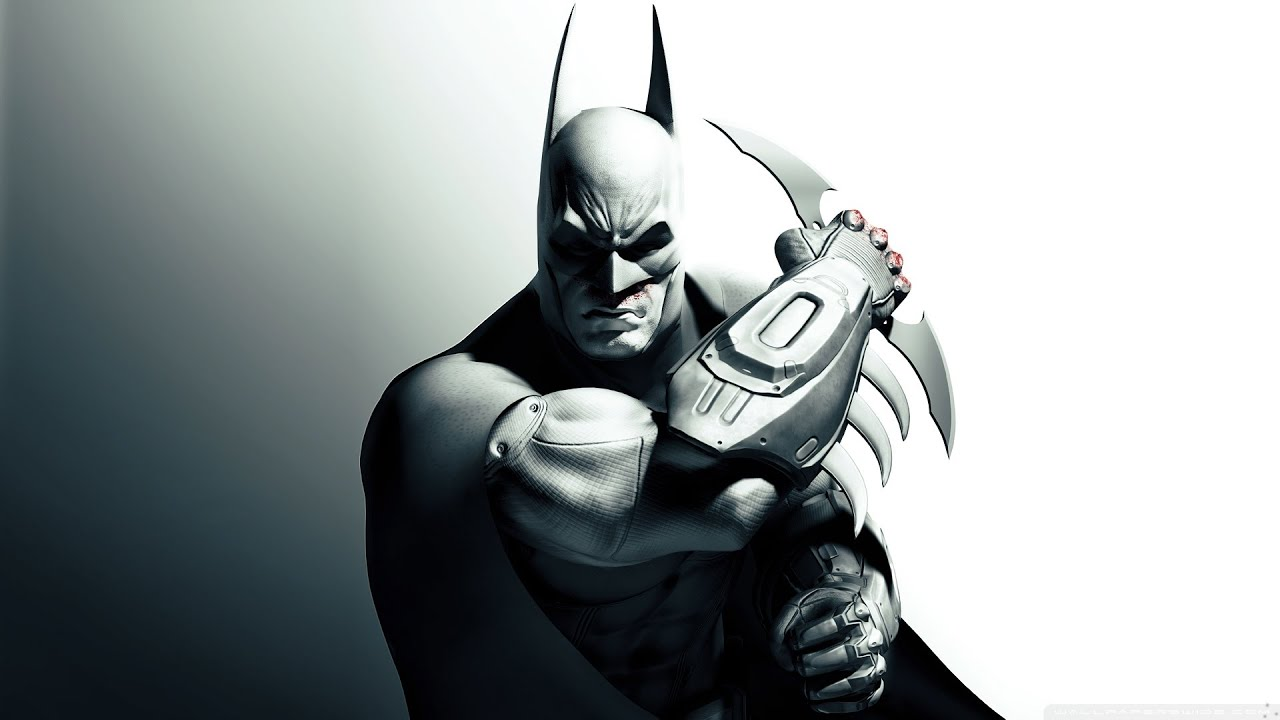 How To Draw Batman From Arkham City