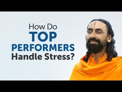 How Do Top Performers Work without Any Stress? MUST WATCH | Swami Mukundananda on Stress- Management
