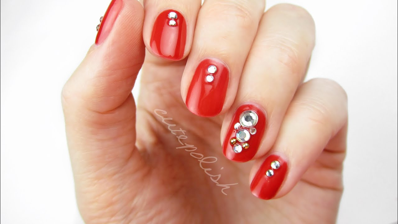 Diy gel polish nails at home youtube prinsesfo Images