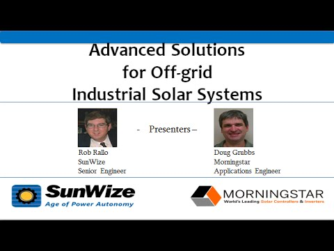 Advanced Solutions for Off-grid Industrial Solar Systems