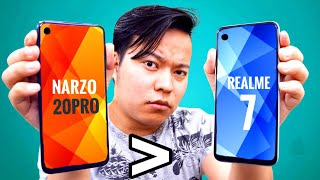 Realme Narzo 20 Pro : Better Than Realme 7 Reallyyy ???