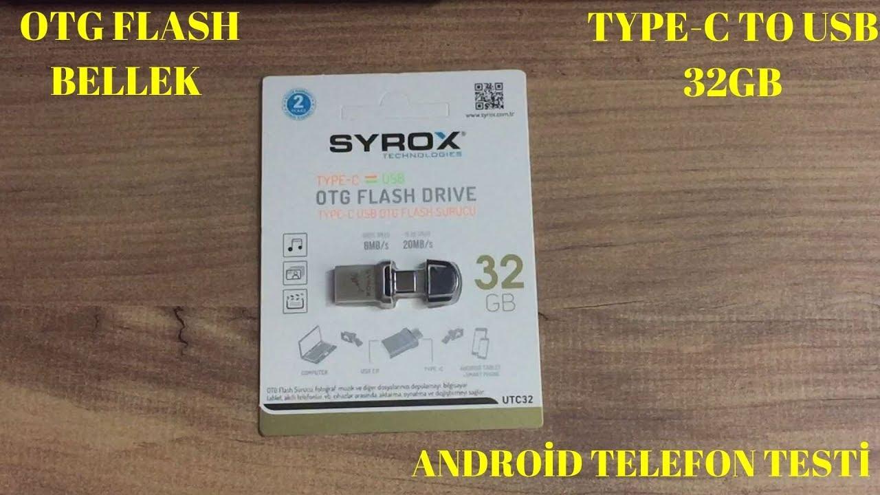 OTG FLASH BELLEK TYPE C TO USB 32GB