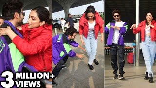 Deepika Padukone LEARNS Dance From Kartik Aaryan On Dheeme Dheeme Song