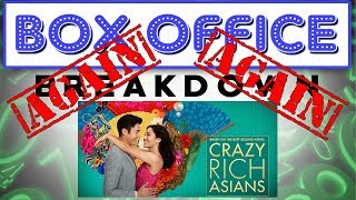 Crazy Rich Asians Party Up for Labor Day Weekend! - Box Office Breakdown for September 2nd, 2018