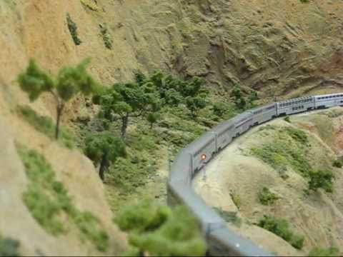 N Scale Trains Episode 2: Amtrak's Coast Starlight