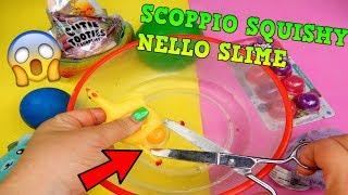 SCOPPIO SQUISHY STRANI NELLO SLIME TRASPARENTE! COSA USCIRA'? iolanda sweets