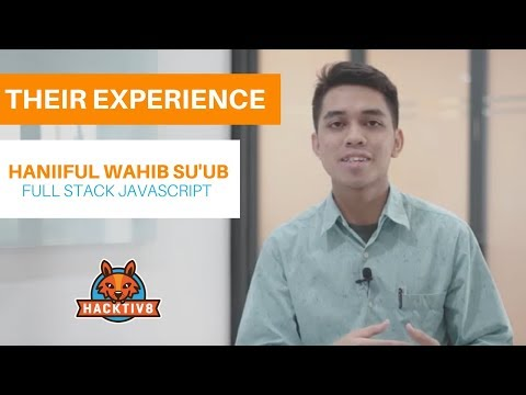 Wahib, a Computer Enthusiast turned into a Full Stack Developer