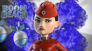 Boom Beach COLONEL GEARHEART FUN ATTACKS! NEW Facecam |MUSTSEE|