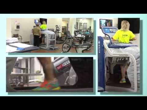 Defying Gravity: UTMB's AlterG Anti-Gravity Treadmill