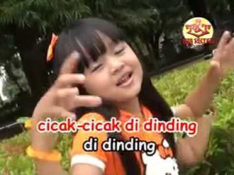"LAGU ANAK ANAK TERPOPULER ""cicak Cicak Di Dinding"""