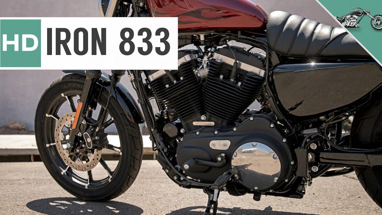Harley Davidson Iron 833 >> 2017 Harley Davidson Sportster Iron 833 - YouTube