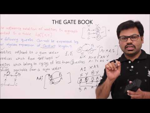 DBMS-Lesson 9-Relational algebra division operators gate questions part 2