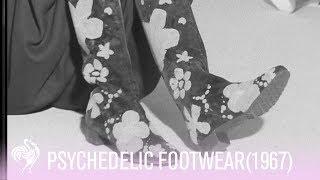 Psychedelic Footwear
