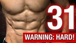 31 Hardest Ab Exercises Ever (DOWNRIGHT SCARY!!)