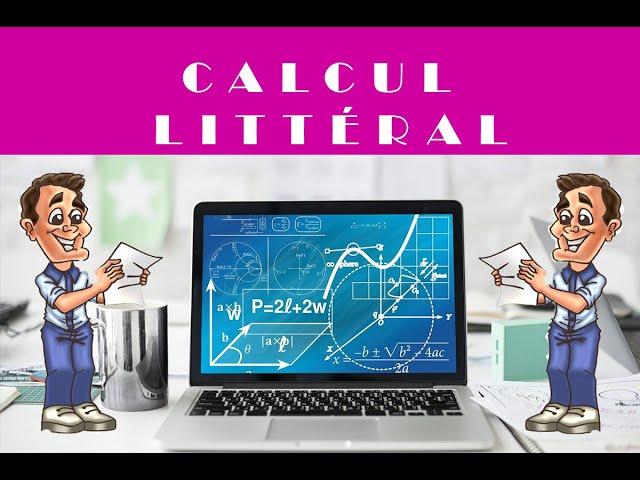 Calcul littéral et géométrie : exercices de maths corrigé.
