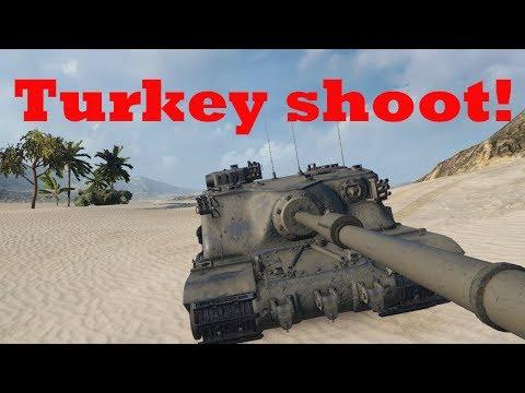 Turkey Shoot! (Tortoise on Mines & Abbey)