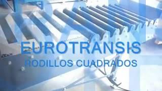 TRANSPORTADOR RODILLOS CUADRADOS EUROTRANSIS