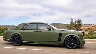 Modified Rolls Royce Phantom With $40k Wald Bodykit!
