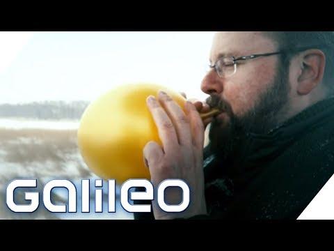 Kampf dem Welthunger? Das taugt das Essen aus Luft wirklich   Galileo   ProSieben