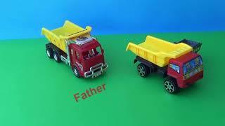 Toys for Kids. Video cute cars and trucks. Vídeo infantil