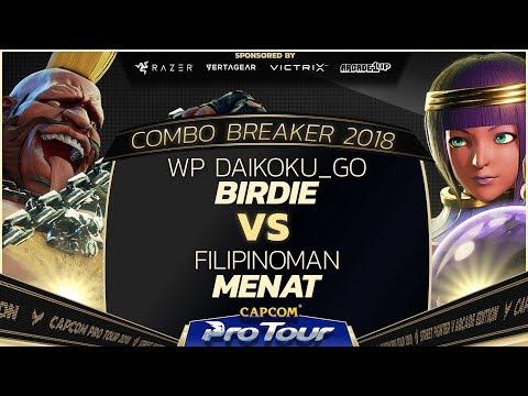 WP Daikoku_go (Birdie) vs Filipinoman (Menat) - Combo Breaker 2018 - Day 2 - CPT 2018