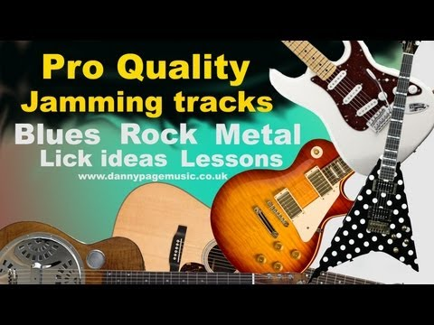 80's Rock Metal Backing Track in C#m
