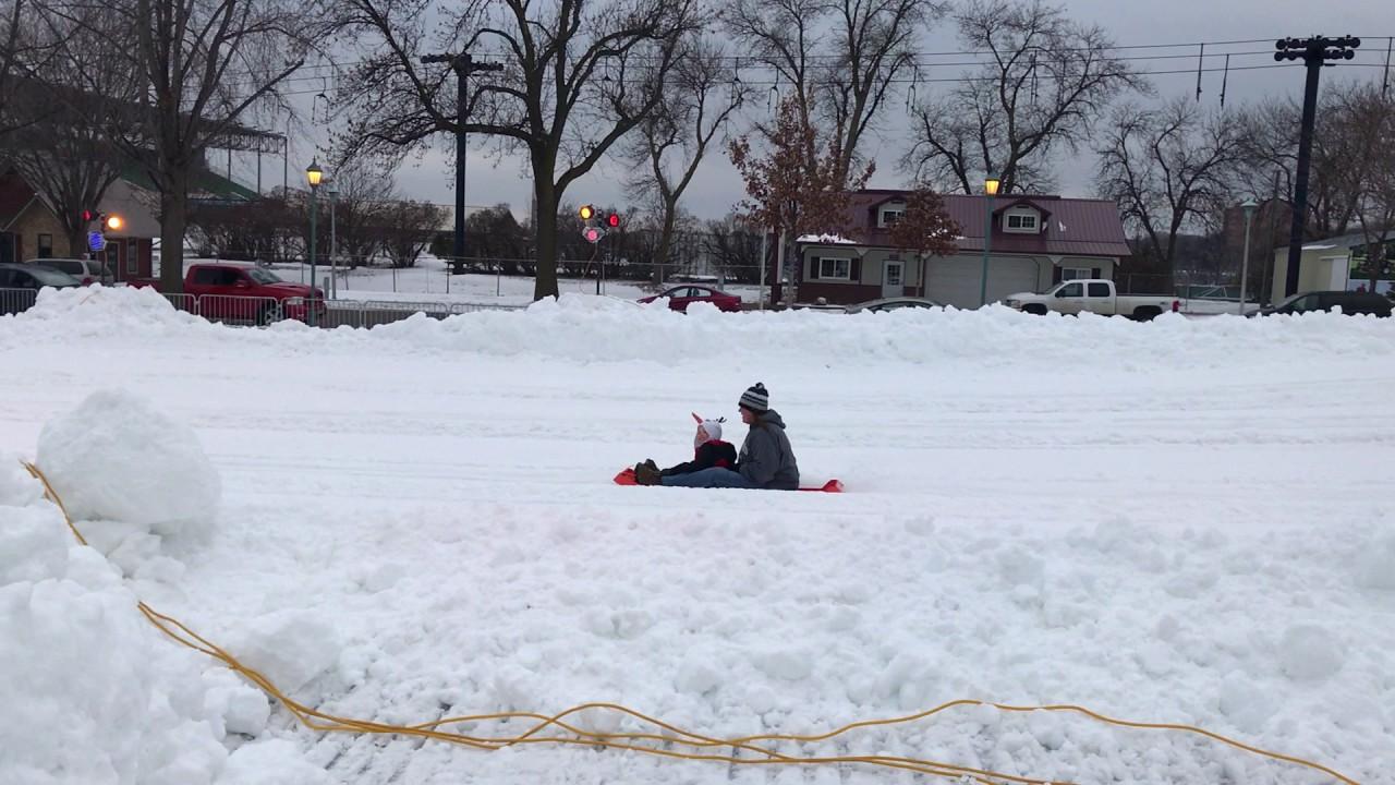 Winter Carnival Snow Slide
