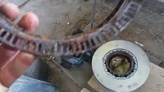 Ремонт DAF  CF замена тормозных дисков