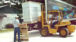 Touchton's Heating and Air Conditioning in Live Oak, FL unloading equipment
