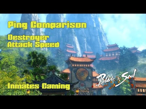 [Blade & Soul] - (Ping) Attack Speed Comparison