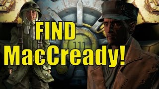 Fallout 4 How To Find MacCready From Fallout 3 As A Companion