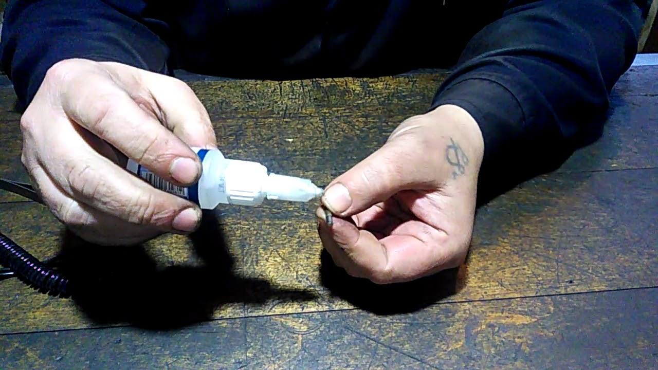 Вольфрамовая мормышка своими руками - быстро и просто.