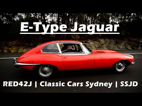 Reign of the E-Type Jaguar - Sydney Classic Car Drive