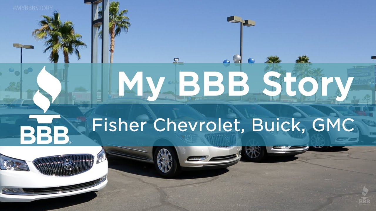 Fisher Chevrolet Buick Gmc Service Center Inc Better