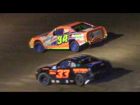 Mini Stock Feature | McKean County Family Raceway | 9-28-18