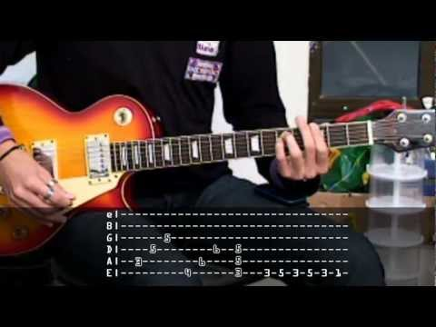 Deep Purple - Smoke on the water (Cover and tabs)