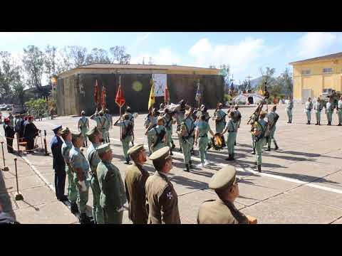 Ceuta celebra el 98º aniversario de la IV Bandera de La Legión