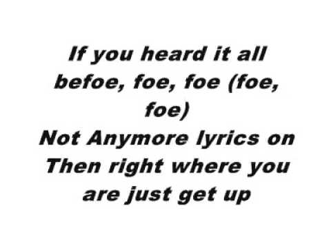 YouTube Ne Yo Not Anymore Lyrics New Single 2009
