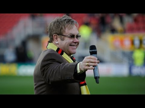 Sir Elton John's Full Speech At Official Watford FC Stand Naming