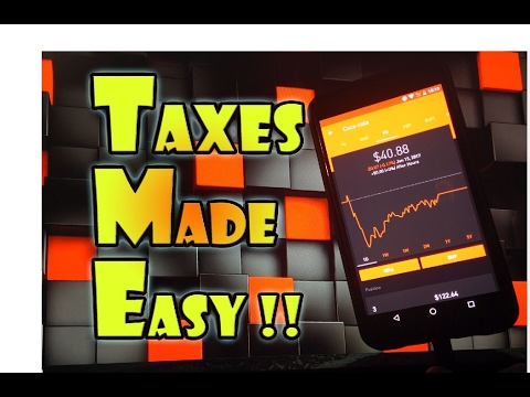Robinhood APP - ROBINHOOD Dividend and Capital Gains TAXES Made EASY!