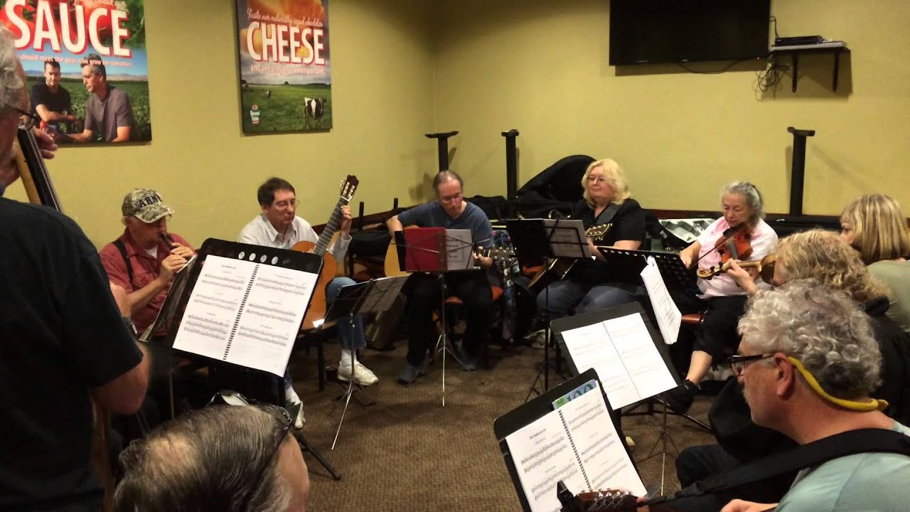 Celtic Music at Round Table Pizza Benicia February 22 2015