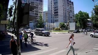 Тестовая видеозапись с IP камер XVI  серии 12хх 1,3Mp улица, день
