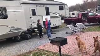 2018 Camping & Hiking at Jellystone Hagerstown Maryland