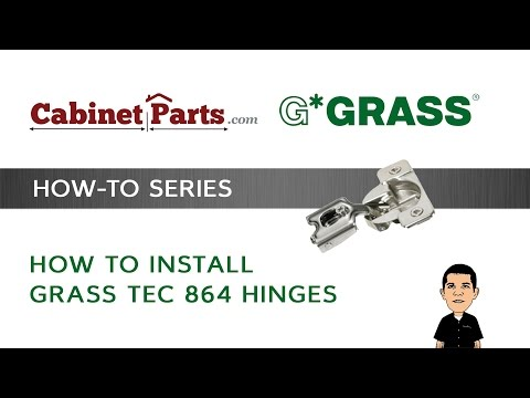 Refurbish Grass 830-3 hole Hinge with 830-37 Mounting plate Complete
