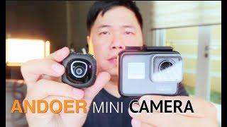 Andoer G1 Mini Camera vs GoPro Hero 5 Review Indonesia