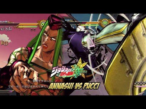 JoJo's Bizarre Adventure: All Star Battle - Narciso Annasui vs Enrico Pucci