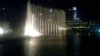 dubai fountain mon amour 10-5-2013