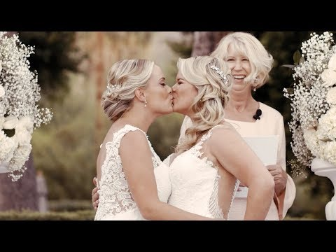 Wegan's Wedding 2017 | Palm Springs, CA | Lesbian Wedding | Whitney & Megan