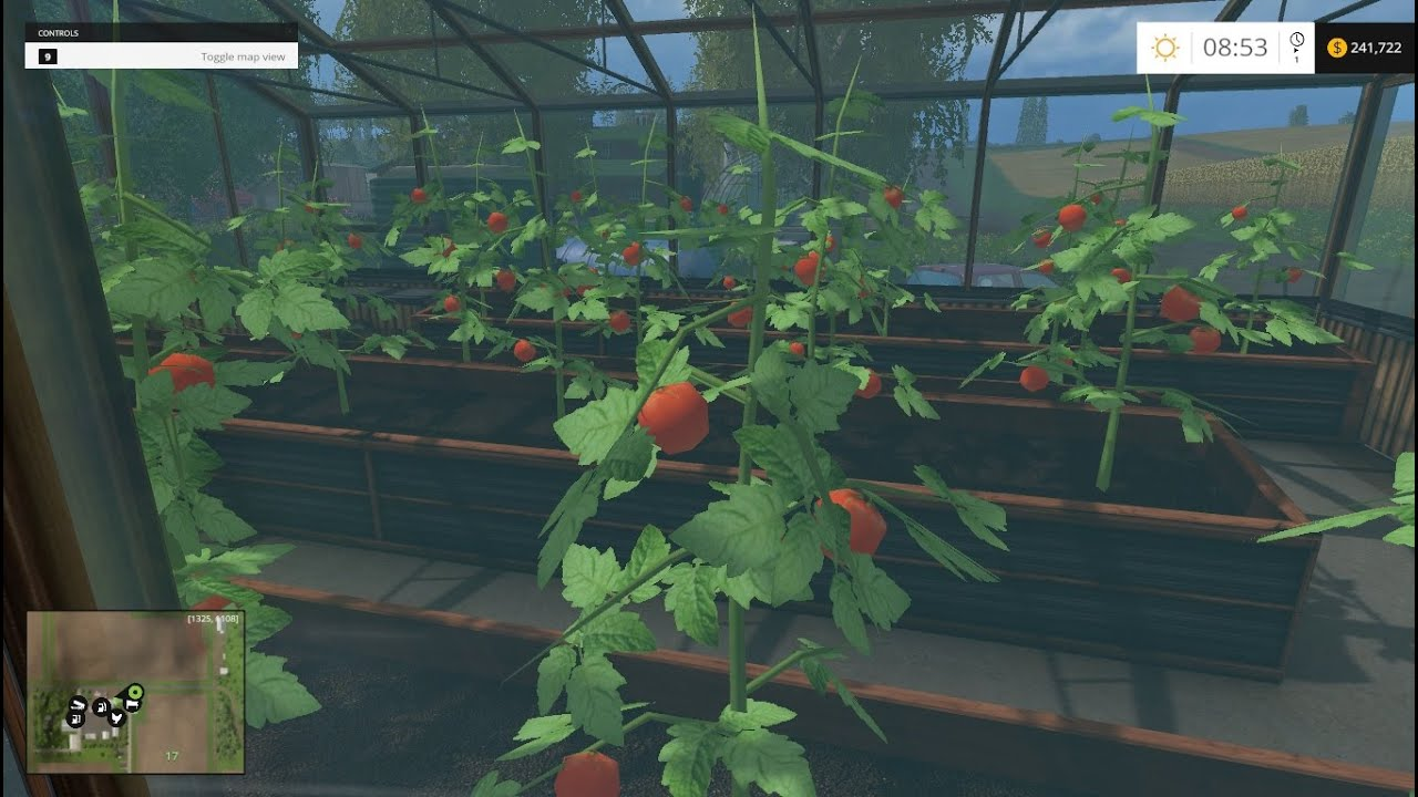 farming simulator 2015: greenhouse chores - youtube